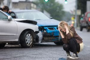woman-accident-car
